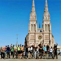 2017 Primer salida en bici a Lujan - UNAHUR